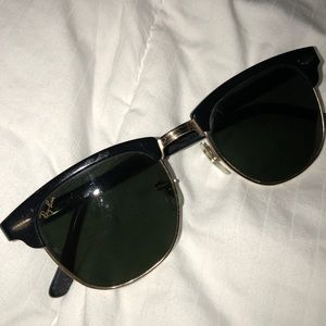 Vintage Ray-Ban Clubmaster Sunglasses